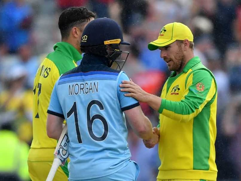 """Australia """"Outplayed"""" By England In World Cup Semi-Final, Says Aaron Finch"""