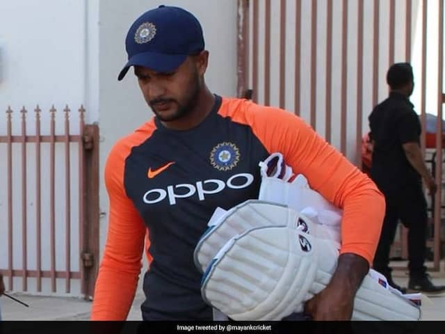 ICC Approved Mayank Agarwals Inclusion In The Place Of Vijay shankar