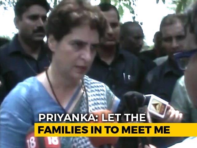 """Video : """"Horrible Injustice"""": Priyanka Gandhi On Shootout In UP Village"""