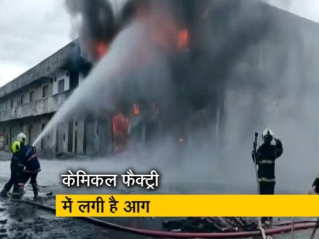 Video : महाराष्ट्र के भिवंडी में लगी भीषण आग