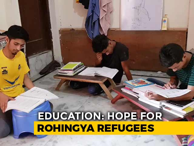 Video : At Delhi's Slum, Rohingya Pin Hope On Education To Make Life Better