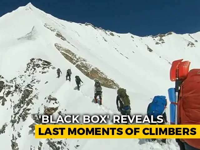 Video : Action Camera Video Shows Last Moments Of Nanda Devi Climbers