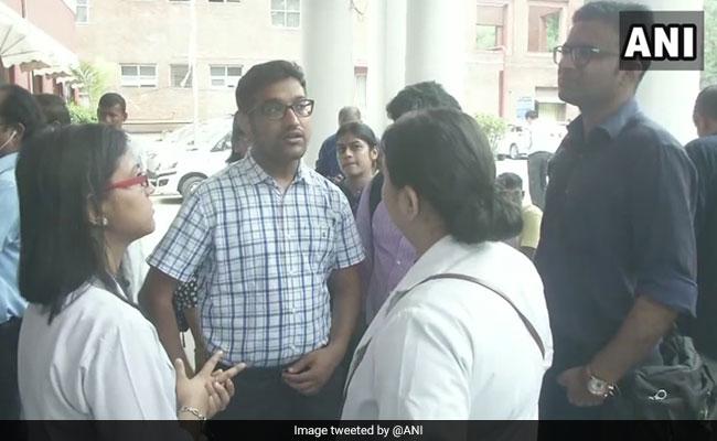 Delhi Hospital Doctors Strike Over Alleged Assault On Medical Student