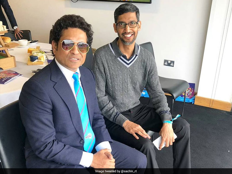 Sachin Tendulkar Shares Picture With Sundar Pichai, Fans Respond With Hilarious Comments