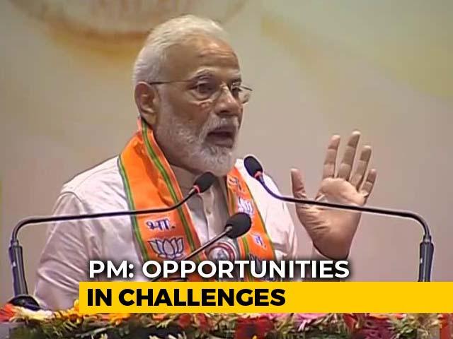 "Video : Since Budget, Lot Of Buzz Around ""$5 Trillion Economy"", Says PM Modi"
