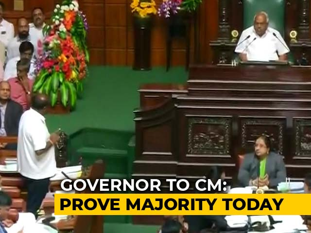 "Video : Governor Sets New Deadline, HD Kumaraswamy Says ""Hurt By 2nd Love Letter"""