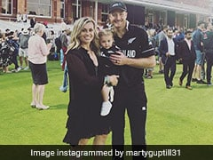 "Martin Guptill Posts Pleasing Message For Wife, Daughter After ""Best And Worst"" World Cup Final"