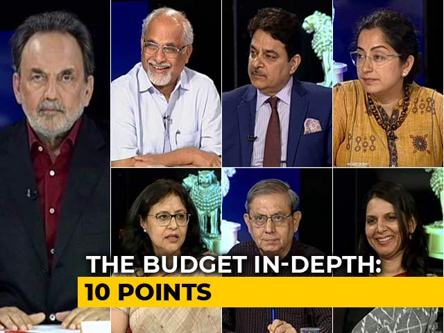 Video : Watch: Prannoy Roy Explains Budget 2019 In 10 Points