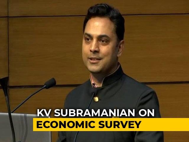 Video : Economic Survey Departs From Traditional Thinking: Krishnamurthy Subramanian