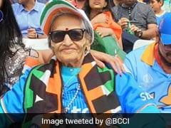 """Superfan"" Turns Up For India vs Sri Lanka Clash After Virat Kohli Promised Her Tickets"