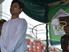 2 Men, Woman Whipped 100 Times Each In Indonesia For Breaking Sharia Law