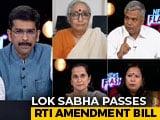 Video: RTI Act Amendment Bill: Landmark Transparency Law Diluted?