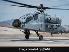 Apache Attack Helicopters To Be Inducted Into Air Force On September 3