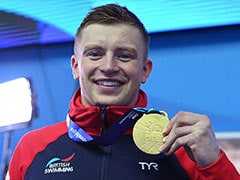 Adam Peaty Completes World Treble In Men