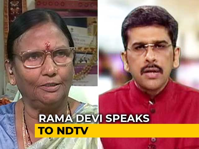 Video : Won't Accept Azam Khan's Apology: Rama Devi To NDTV