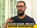 "Video : ""Jal Shakti Abhiyan Can Be Bigger Than Swachh Bharat"": Aamir Khan To NDTV"