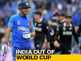 Video : Billion Dreams End, India Exit World Cup After Losing To NZ In Semis