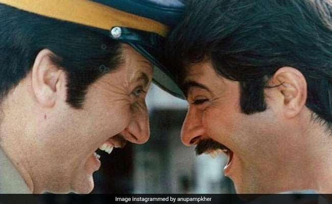 Anupam Kher Shares A Throwback Pic With Anil Kapoor: 'The Best Mirror Is An Old Friend'