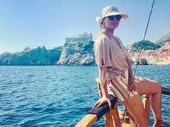 Ahoy There, Lara Dutta's Vacation Is Getting Better And Better