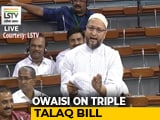 Video : Laws Not Enough To End Social Evil: Asaduddin Owaisi On Triple Talaq Bill