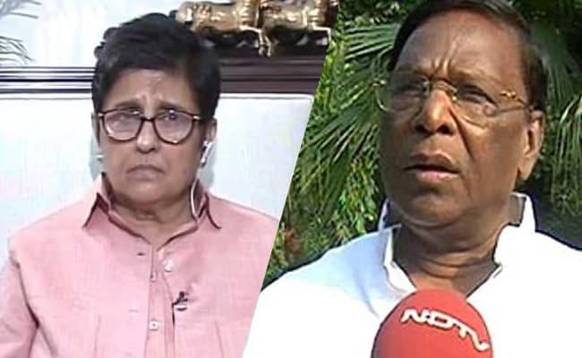 पुडुचेरी के CM ने किरण बेदी को बताया 'हिटलर की बहन', कहा- जब भी वह हमारे फैसलों को नामंजूर करती हैं तो...