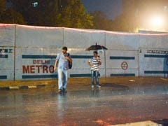 Heavy Rain, Thunderstorm In Parts Of Delhi