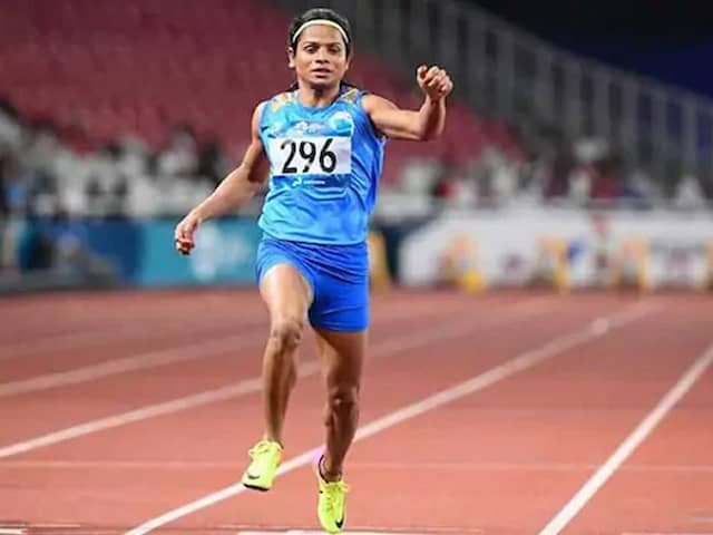 Dutee Chand Eyeing World Championship, Olympics Qualification After Bagging Gold In World Universiade