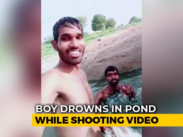 Video : Man Drowns In Lake Outside Hyderabad As Cousin Shoots TikTok Video