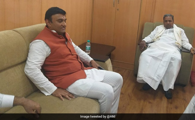Karnataka BJP Accuses Congress Leaders Of 'Locking Up' Rebel Lawmaker
