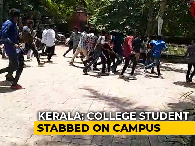 Video : 4 Arrested, 2 Detained After Kerala University Student Stabbed On Campus