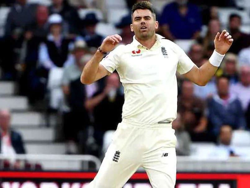 England's James Anderson Ruled Out Of Ireland Test With Calf Injury