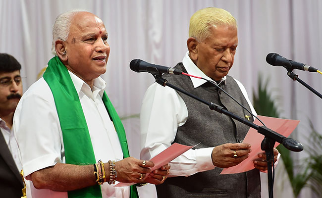 'Will Prove Majority 100%,' BS Yediyurappa Says Ahead Of Trust Vote
