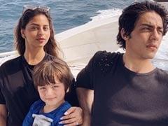 Suhana, AbRam And Aryan Chilling Like Villains In Gauri Khan's Fave Maldives Memory