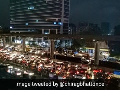 17 Flights Diverted, Traffic Jams In Mumbai After Very Heavy Rain