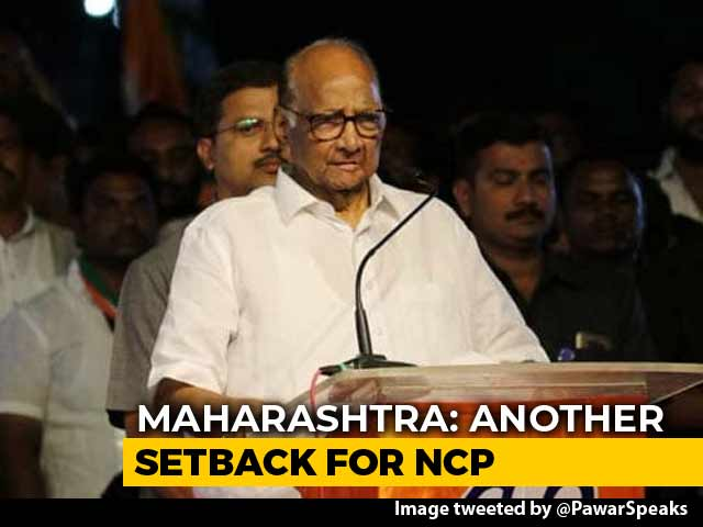 "Video : Sharad Pawar Pins Defections On BJP. ""Introspect,"" Says Devendra Fadnavis"