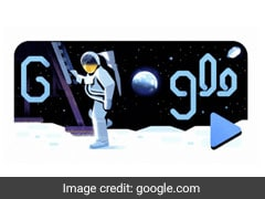 """One Small Step..."": Google Doodle Celebrates 50 Years Of Moon Landing"