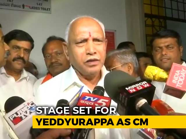 Video : BS Yeddyurappa Set To Be Chief Minister For Fourth Time