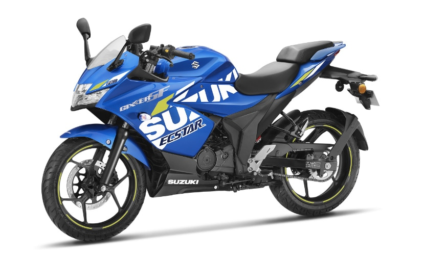 The Suzuki Gixxer SF MotoGP edition is about Rs. 1,500 more expensive than the standard model.