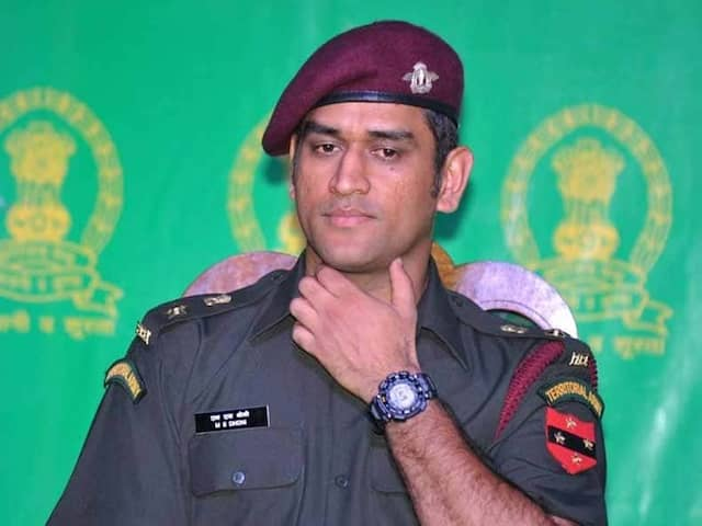 MS Dhoni Begins 2-Week Stint With Territorial Army In Kashmir
