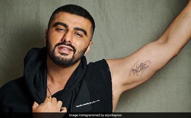 Arjun Kapoor Reveals His Second Tattoo. Anushka Sharma And Ranveer Singh Think Its Cool
