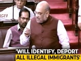 "Video : ""Illegal Immigrants Living On Every Inch Will Be Deported"": Amit Shah"