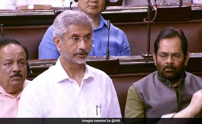 ट्रंप के मध्यस्थता वाले बयान पर विदेश मंत्री एस जयशंकर ने राज्यसभा में कहा- प्रधानमंत्री नरेंद्र मोदी ने ऐसा कोई अनुरोध नहीं किया