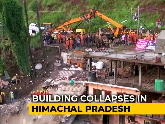 Video : 14 Killed In Building Collapse After Heavy Rain In Himachal's Solan