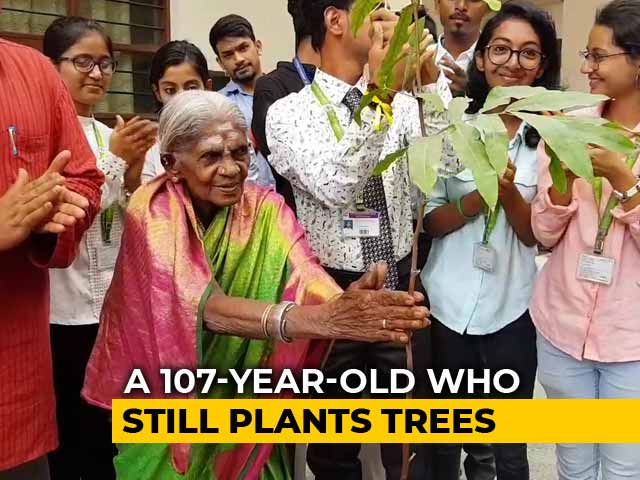 Video : 107-Year-Old Environmentalist Planted Hundreds Of Trees