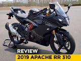 Video : 2019 TVS Apache RR 310 Review
