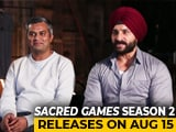 Video : <i>Sacred Games</i> Is One Of The Most Intelligent Project I've Been Part Of: Saif Ali Khan