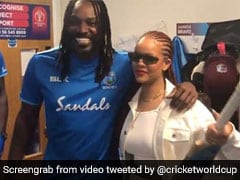 Watch: Chris Gayle Meets Pop Star Rihanna In West Indies Dressing Room