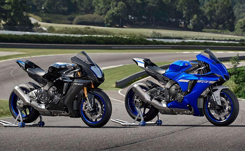 2020 Yamaha Yzf R1 R1m Unveiled Ndtv Carandbike