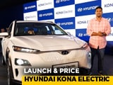 Video : Launch & Price - Hyundai Kona Electric