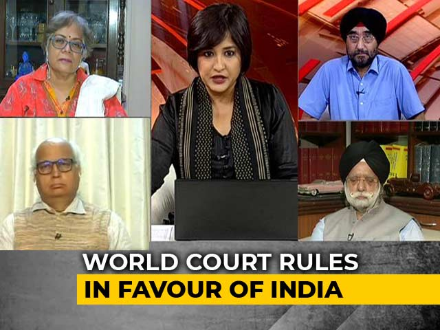 Video : Big Diplomatic Win For India As World Court Stays Kulbhushan Jadhav's Execution